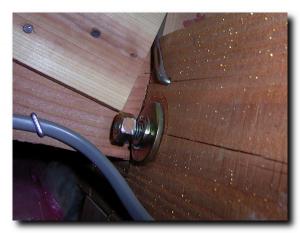 木造住宅ボルトの緩み