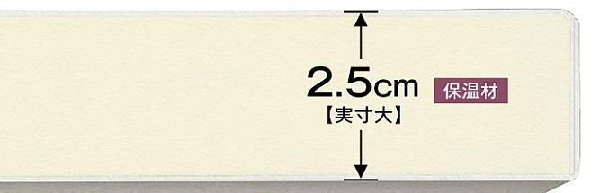 クリナップ保温性画像